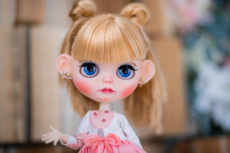 Autumn - Custom Blythe Doll One-Of-A-Kind OOAK Sold-out Custom Blythes