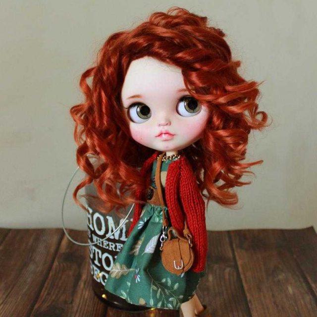 Camilla - Custom Blythe Doll Yek-Tewra OOAK