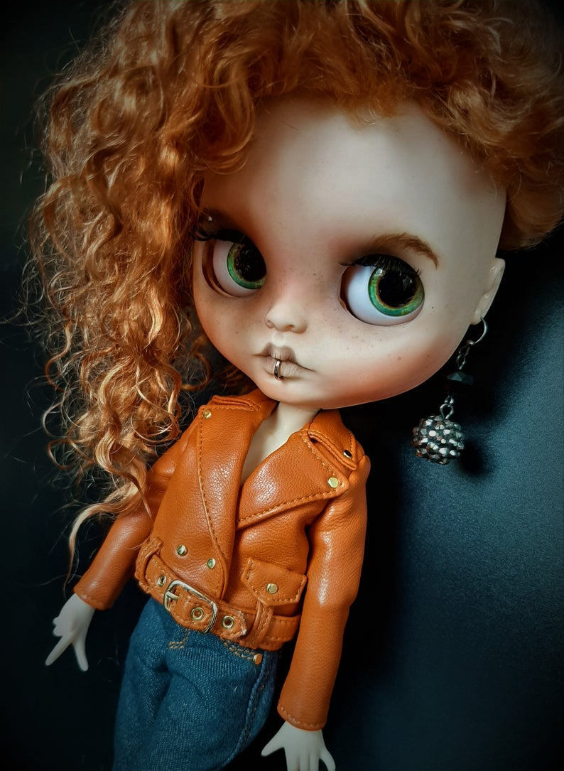 Alessandra - Custom Blythe Doll One-Of-A-Kind OOAK Sold-out Custom Blythes