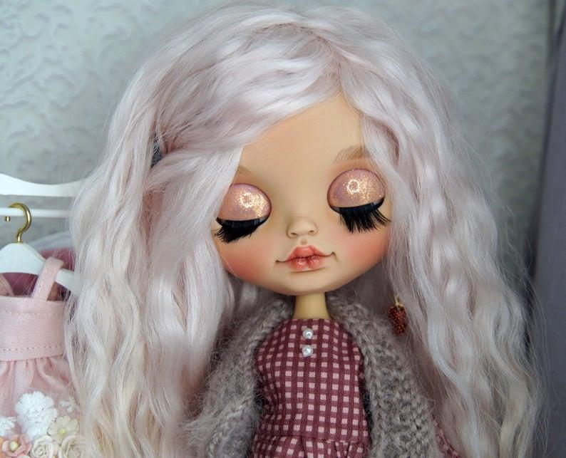 Mireya - Custom Blythe Doll One-Of-A-Kind OOAK Sold-out Custom Blythes