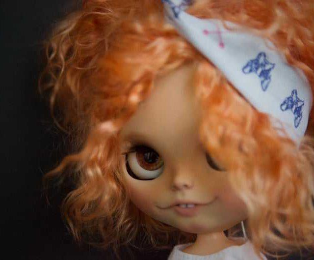 Shurochka – Custom Blythe Doll One-Of-A-Kind OOAK