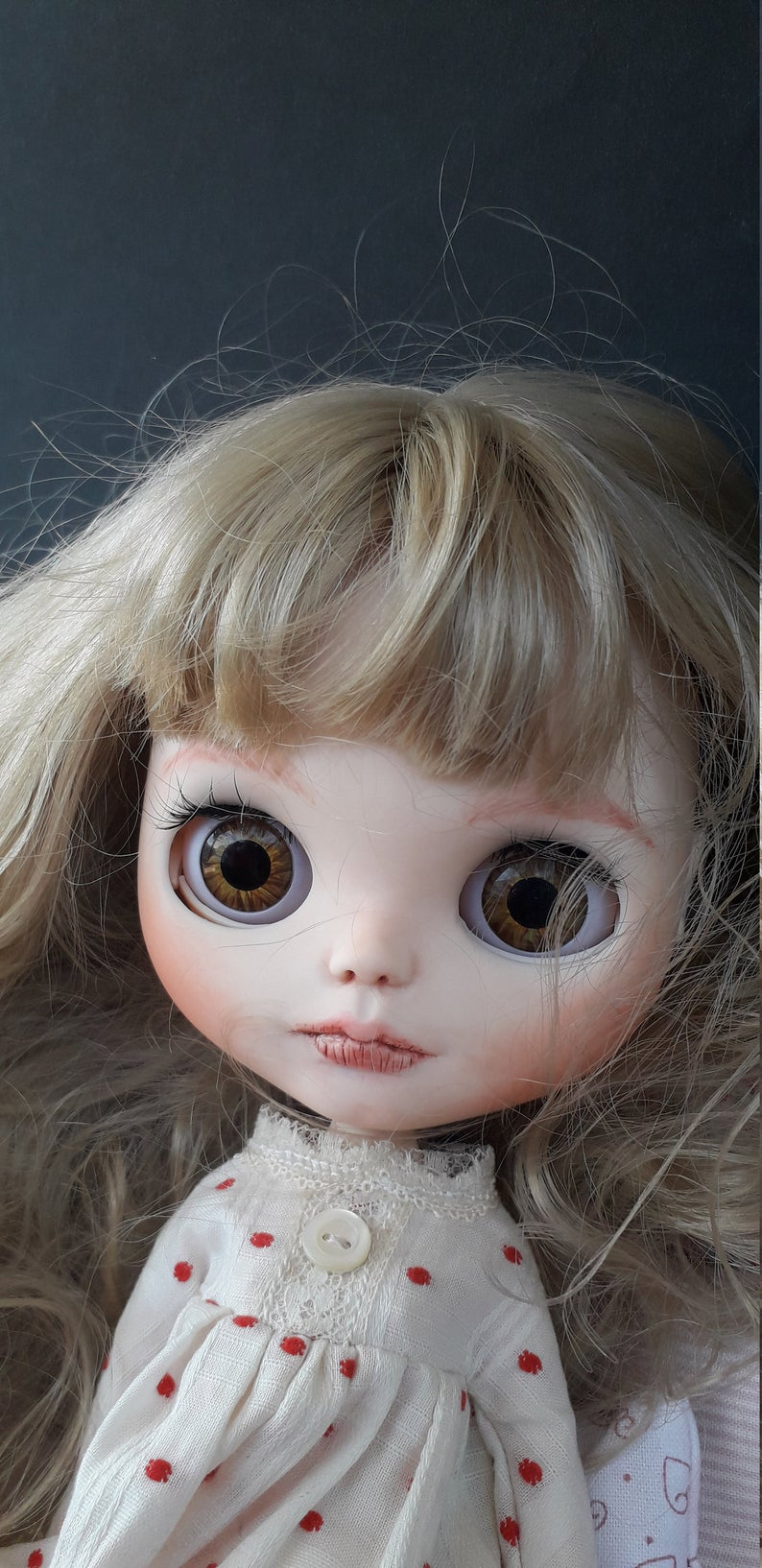 Madeline - Custom Blythe Doll One-Of-A-Kind OOAK Sold-out Custom Blythes