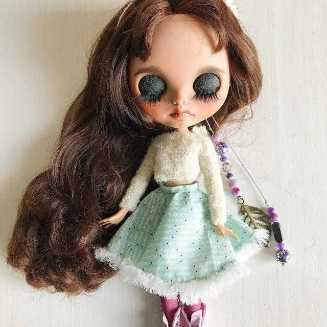 UMelanie - Ngokwezifiso zeBlythe Doll One-Of-A-Kind OOAK