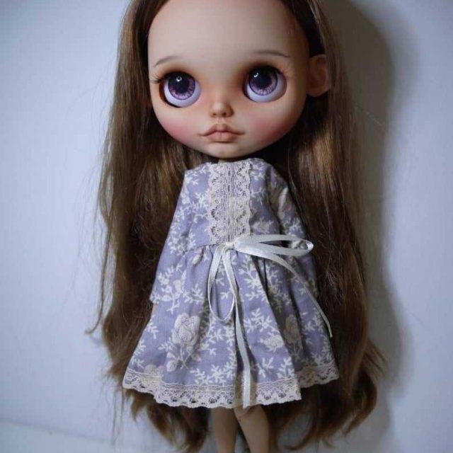 Marqaret - Xüsusi Blythe Doll Bir-Of-A-növ OOAK