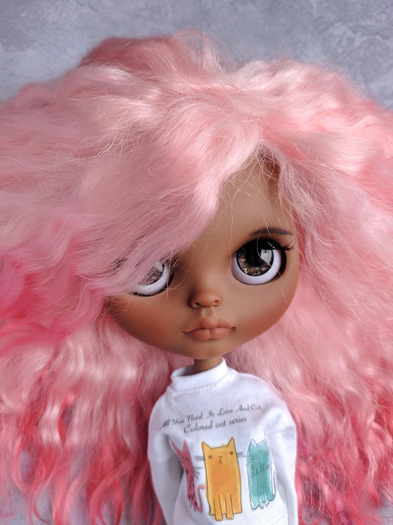 Amiyah - Custom Blythe Doll One-Of-A-Kind OOAK Sold-out Custom Blythes