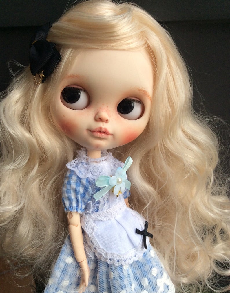 Alice- Custom Blythe Doll One-Of-A-Kind OOAK Sold-out Custom Blythes
