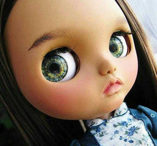 Virginia - Aṣa Blythe Doll Ọkan-Of-A-Kind OOAK