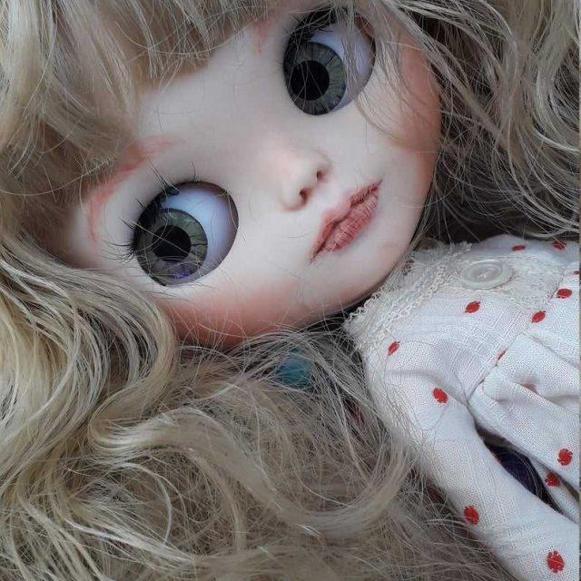 Madeline – Custom Blythe Doll One-Of-A-Kind OOAK
