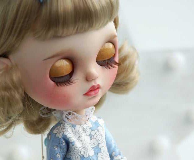 Rika - Xüsusi Blythe Doll Tək-Bir-Bir növ OOAK
