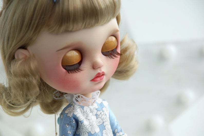 Rika - Custom Blythe Doll One-Of-A-Kind OOAK Sold-out Custom Blythes