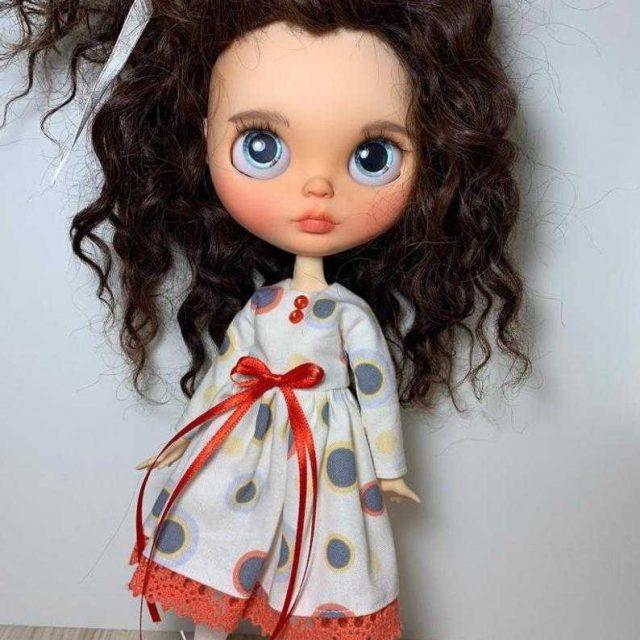 Arianna - Blythe Doll Blythe-Tewek OOAK
