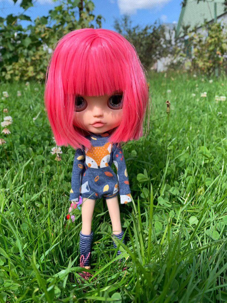 Mika - Custom Blythe Doll One-Of-A-Kind OOAK Custom Blythe Doll ⭐