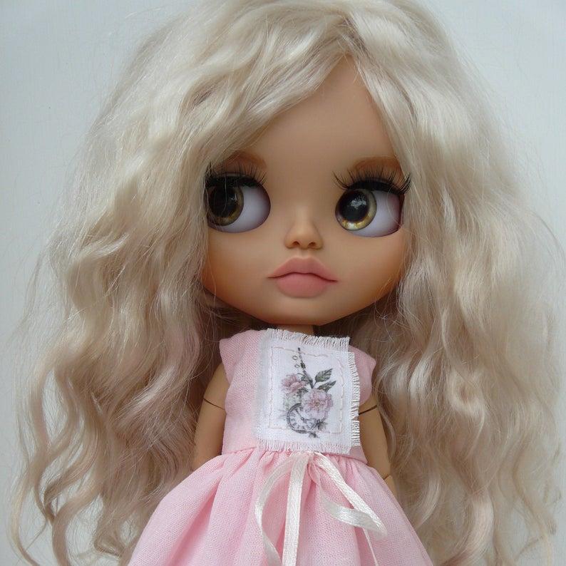 Lilah - Custom Blythe Doll One-Of-A-Kind OOAK Custom Blythe Doll ⭐
