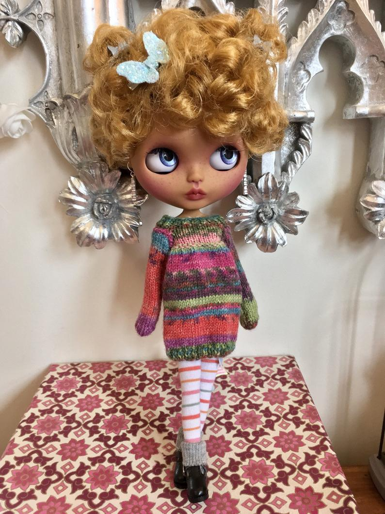 Althea - Custom Blythe Doll One-Of-A-Kind OOAK Sold-out Custom Blythes