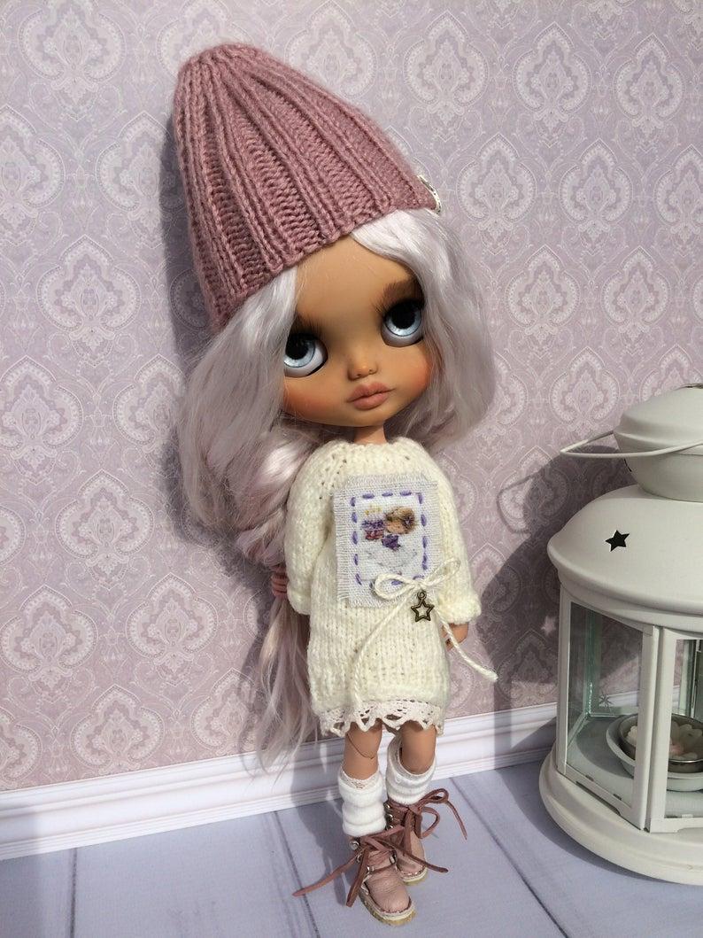 Amaya- Custom Blythe Doll One-Of-A-Kind OOAK Sold-out Custom Blythes