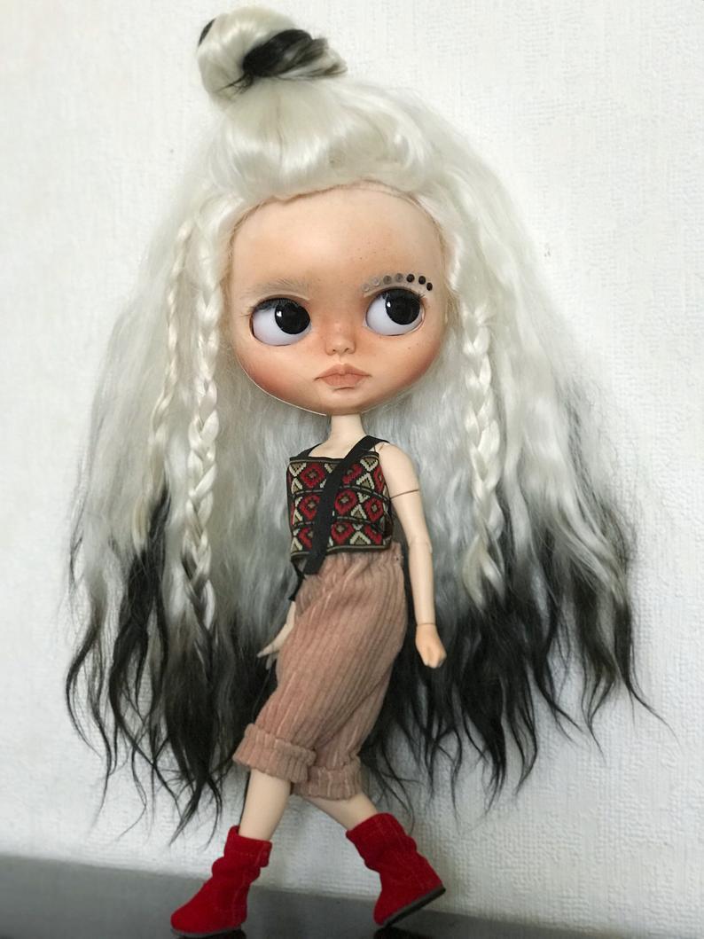 Annika - Custom Blythe Doll One-Of-A-Kind OOAK Custom Blythe Doll ⭐