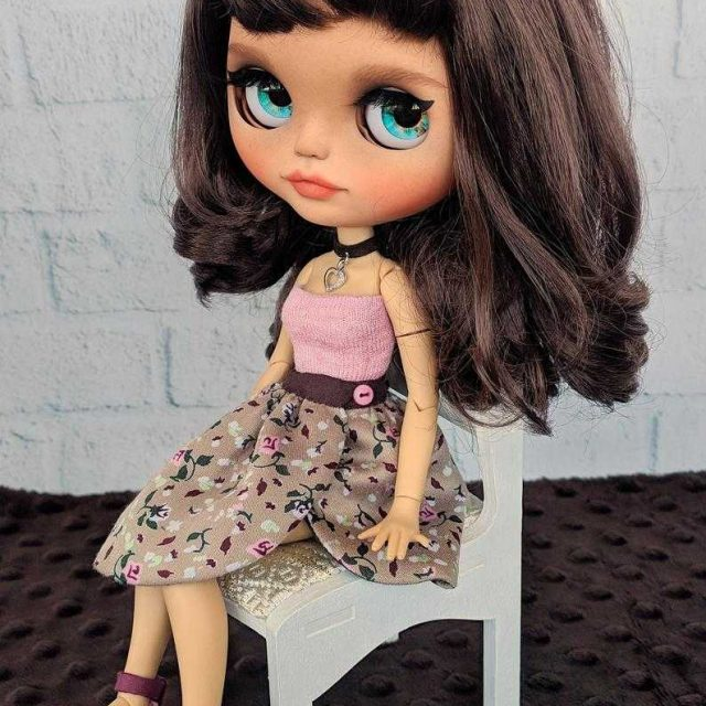 Viki - Blythe Doll Moja ya A-A-Kind OOAK