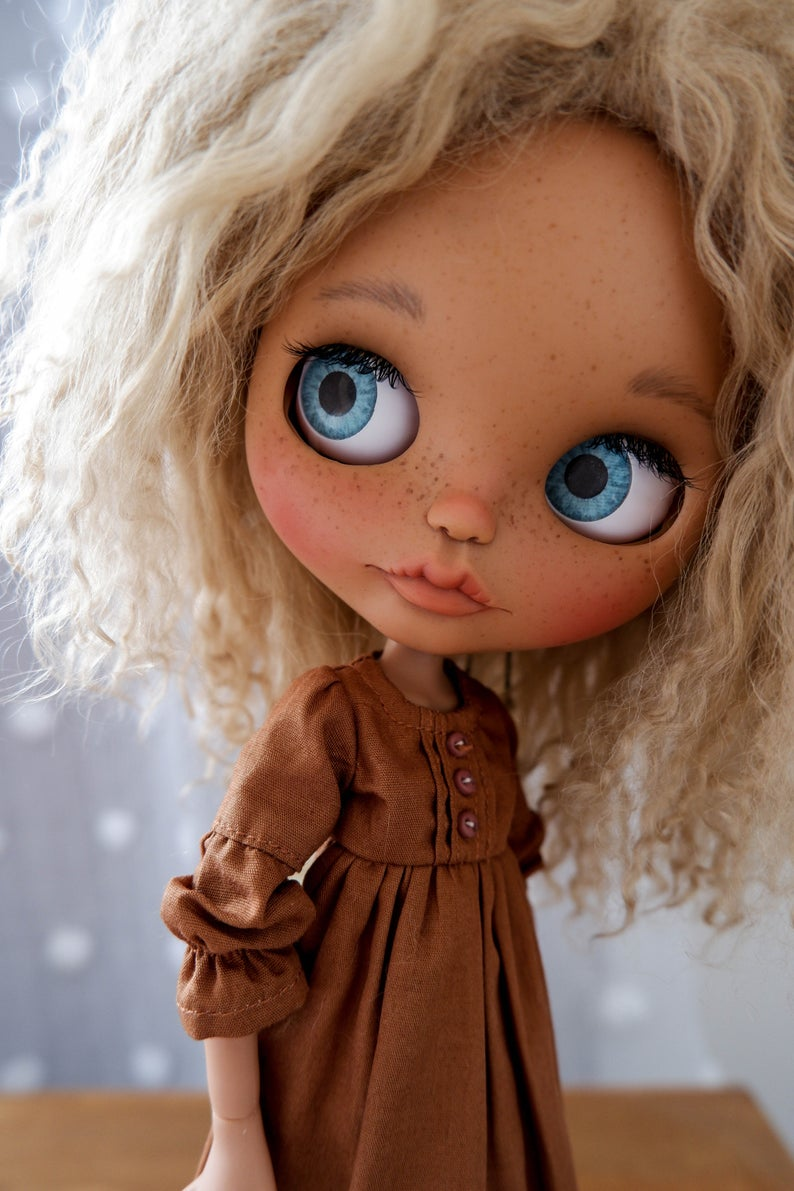 Adeline - Custom Blythe Doll One-Of-A-Kind OOAK Sold-out Custom Blythes