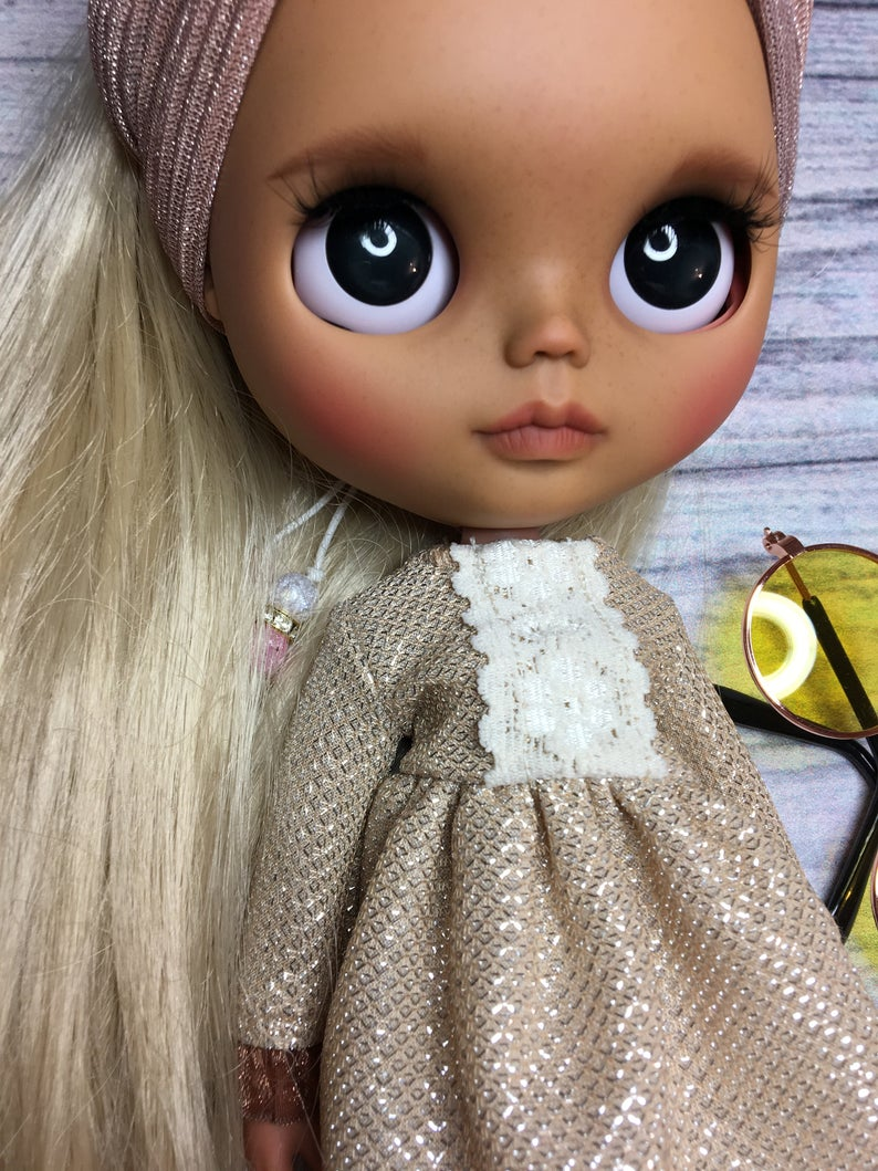 Hailey - Custom Blythe Doll One-Of-A-Kind OOAK Sold-out Custom Blythes