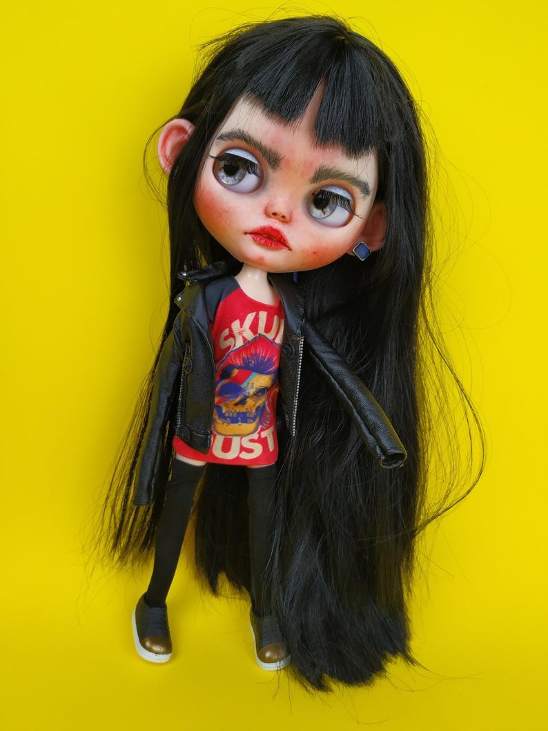 Misha - Custom Blythe Doll One-Of-A-Kind OOAK Custom Blythe Doll ⭐