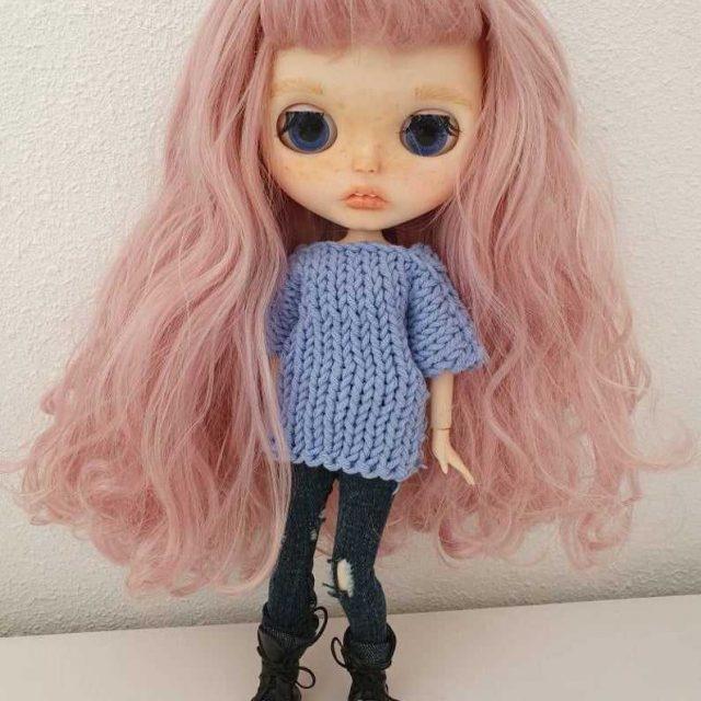 Mia – Custom Blythe Doll One-Of-A-Kind OOAK