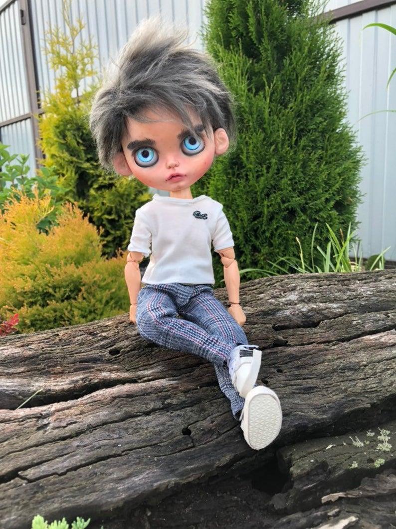 Edward Cullen - Custom Blythe Doll One-Of-A-Kind OOAK Sold-out Custom Blythes