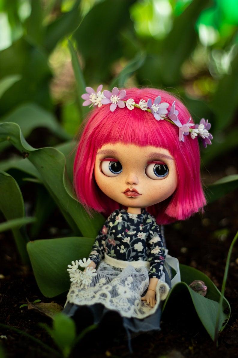 Mariana - Custom Blythe Doll One-Of-A-Kind OOAK Custom Blythe Doll ⭐