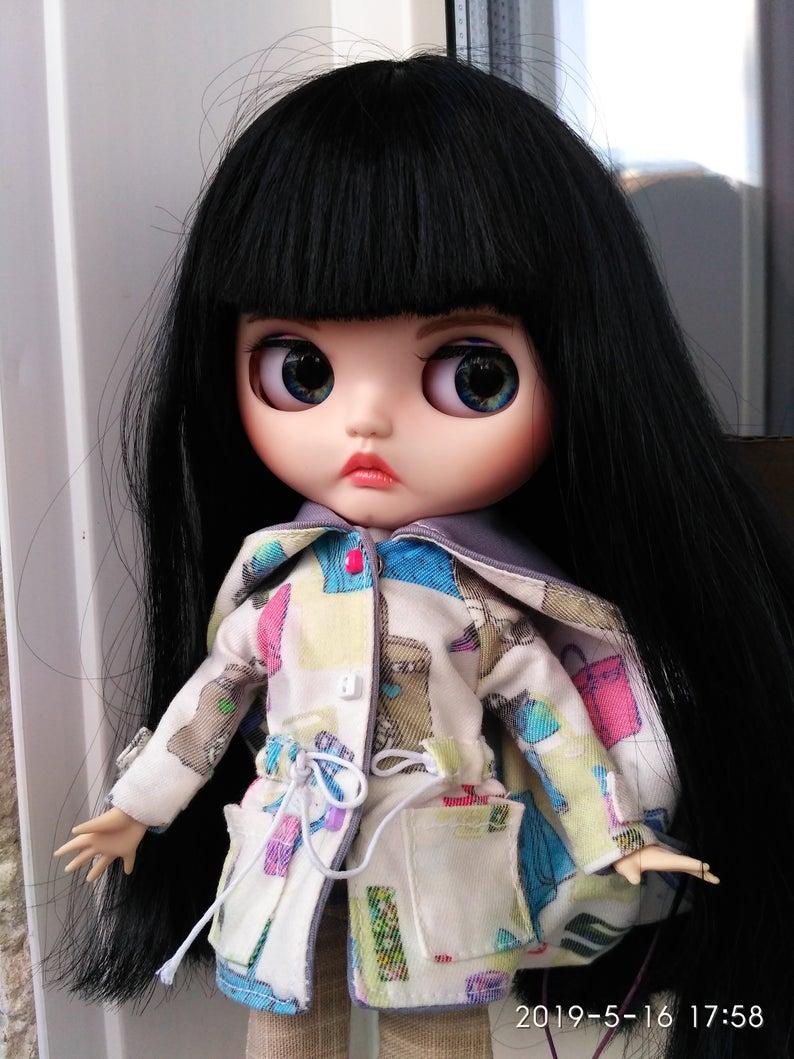 Josephine - Custom Blythe Doll One-Of-A-Kind OOAK Custom Blythe Doll ⭐