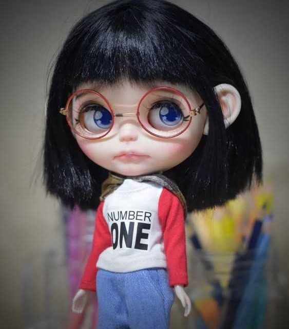 Emery - Aṣa Blythe Doll Ọkan-Of-A-Kind OOAK
