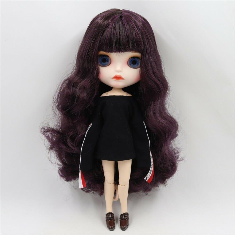 Saylor – Premium Custom Blythe Doll with Full Outfit Cute Face Cute Face Premium Blythe Dolls 🆕