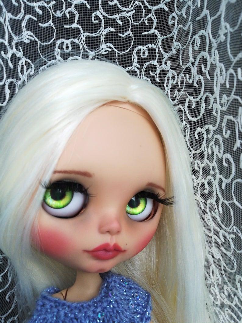 Amelia - Custom Blythe Doll One-Of-A-Kind OOAK Custom Blythe Doll ⭐