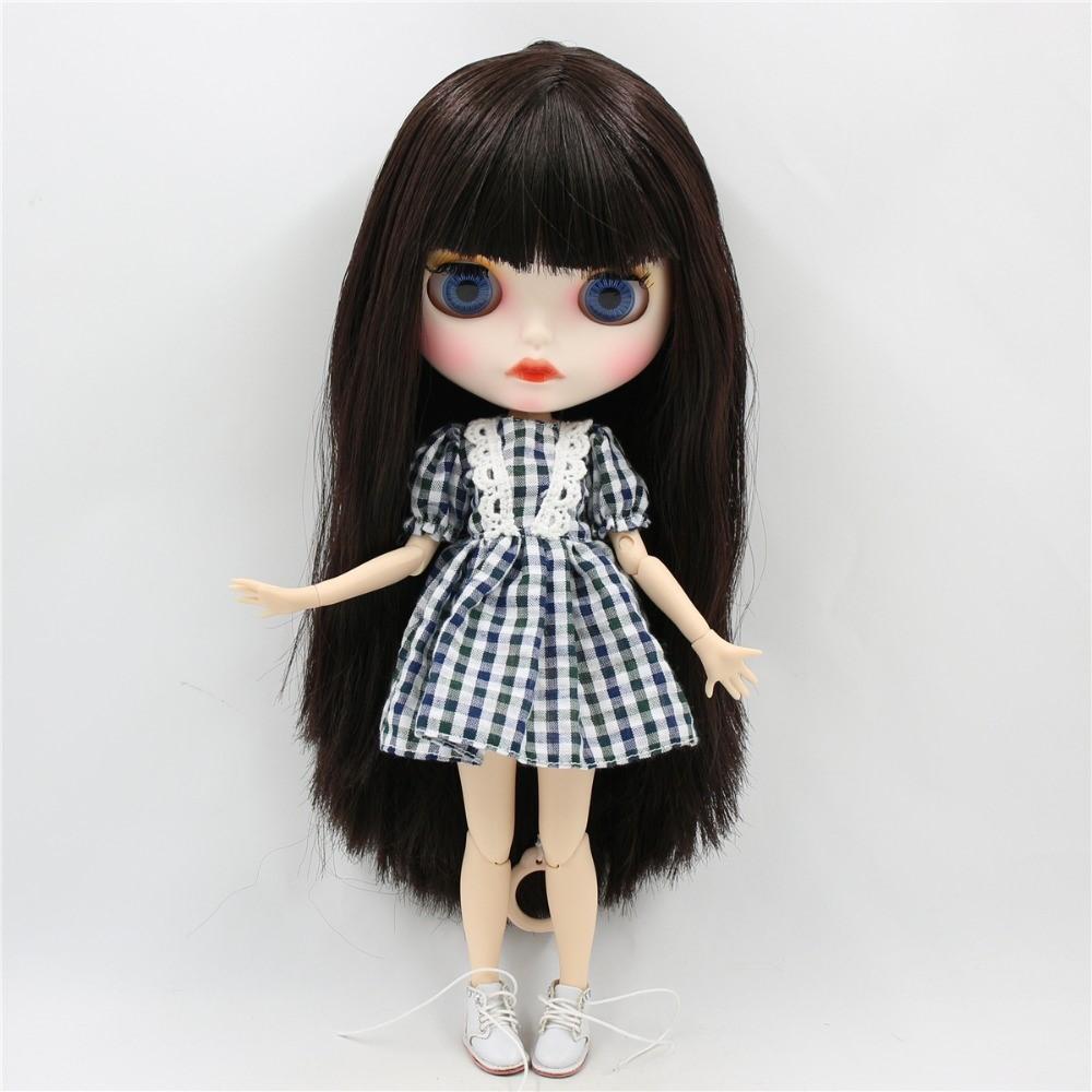 Charleigh – Premium Custom Blythe Doll with Full Outfit Cute Face Cute Face Premium Blythe Dolls 🆕
