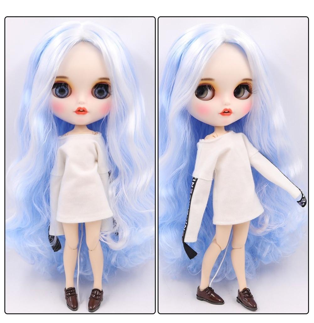 Mia – Premium Custom Blythe Doll with Clothes Smiling Face Premium Blythe Dolls 🆕 Smiling Face