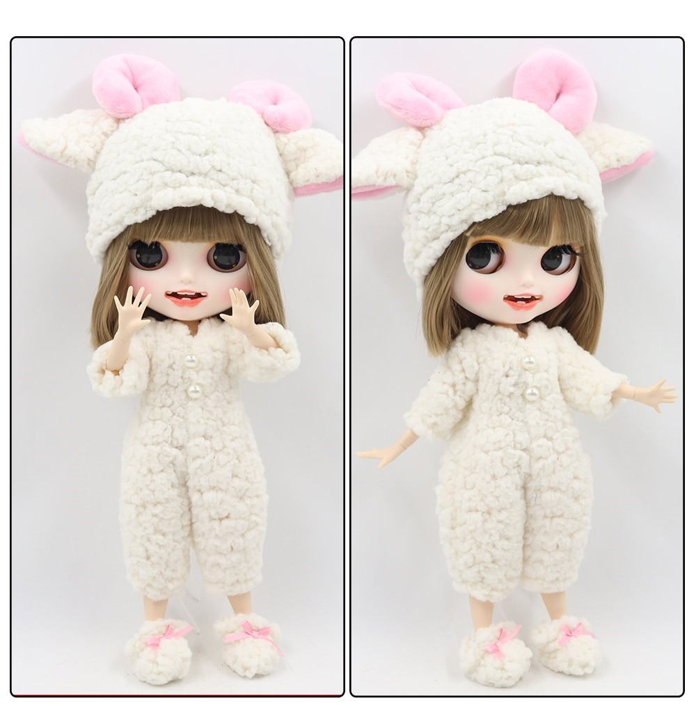 Andrea – Premium Custom Blythe Doll with Clothes Smiling Face Premium Blythe Dolls 🆕 Smiling Face