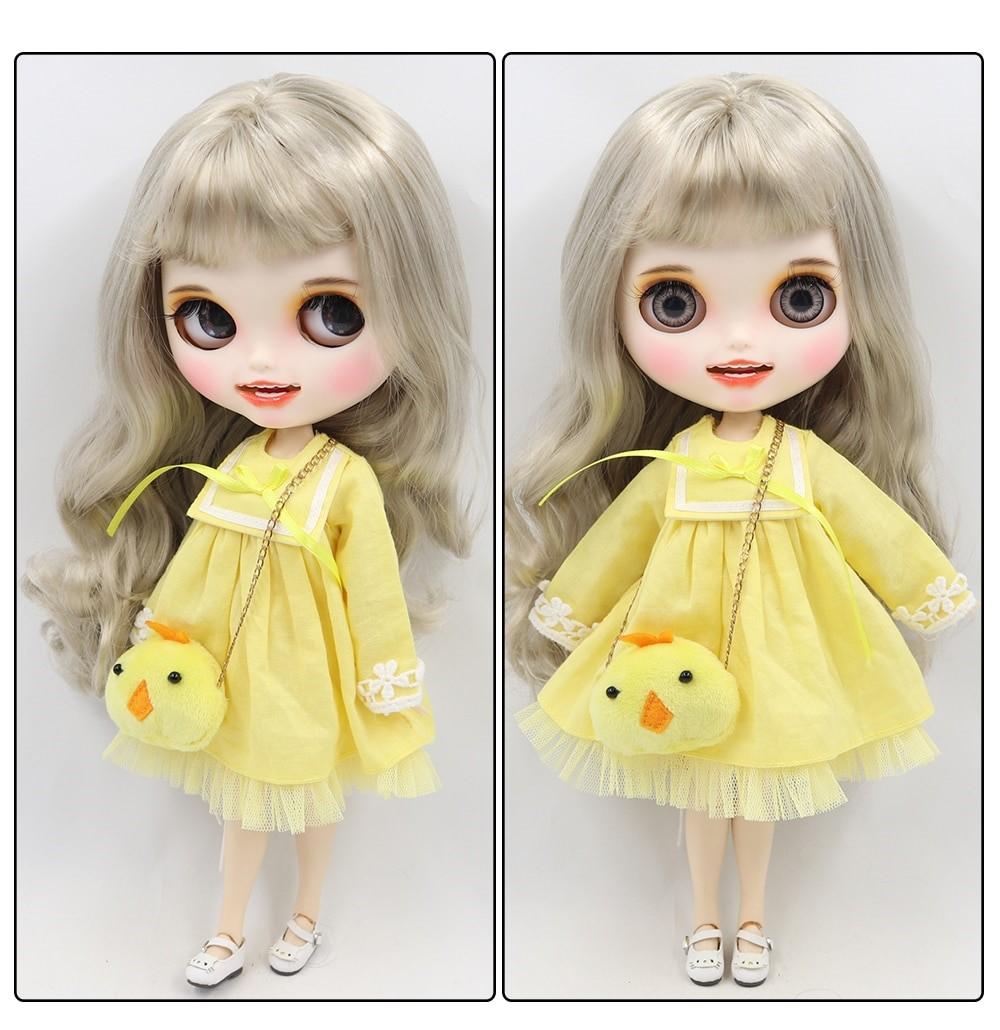 Khloe – Premium Custom Blythe Doll with Clothes Smiling Face Premium Blythe Dolls 🆕 Smiling Face