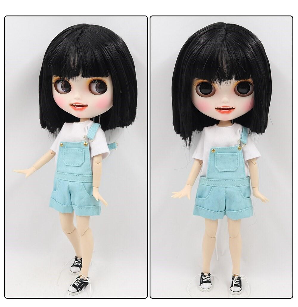 Iris – Premium Custom Blythe Doll with Clothes Smiling Face Premium Blythe Dolls 🆕 Smiling Face