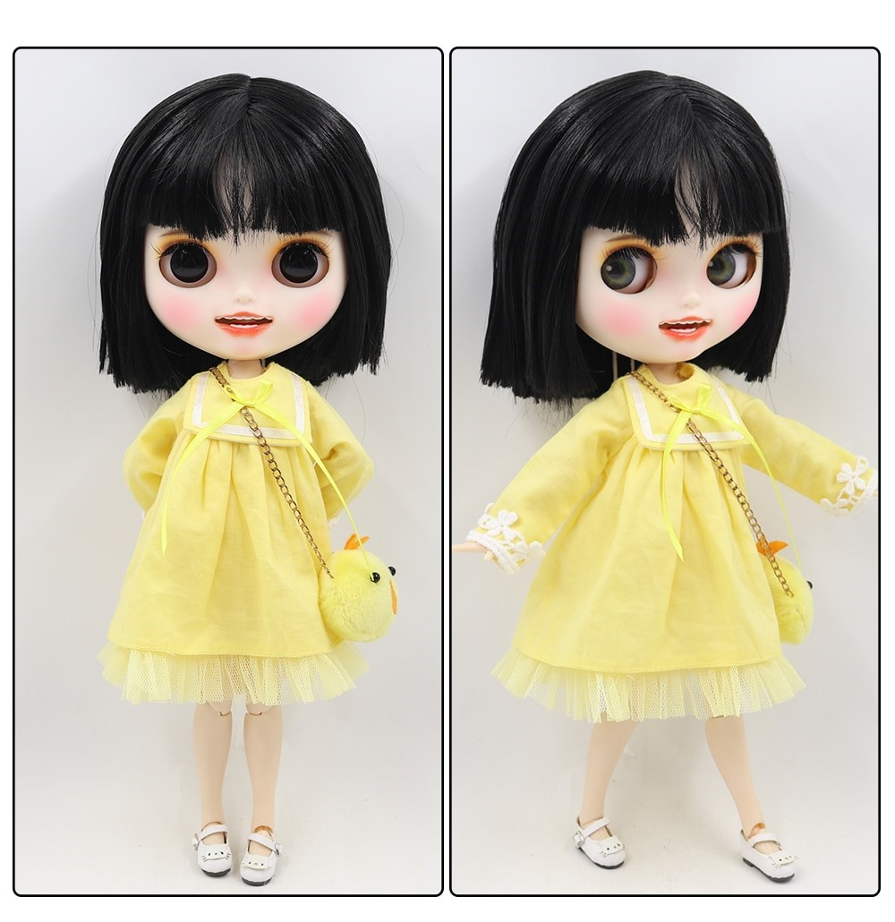 Isabel – Premium Custom Blythe Doll with Clothes Smiling Face Premium Blythe Dolls 🆕 Smiling Face