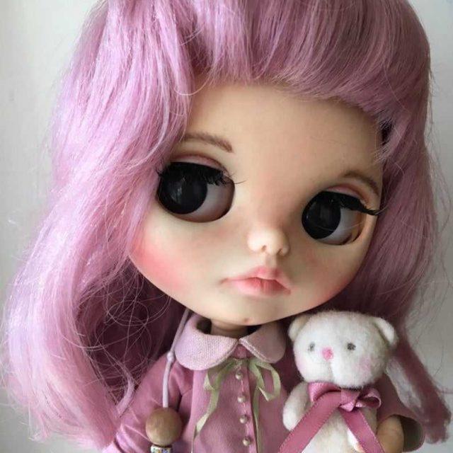 Cora - Custom Blythe Doll yek-Tewek OOAK