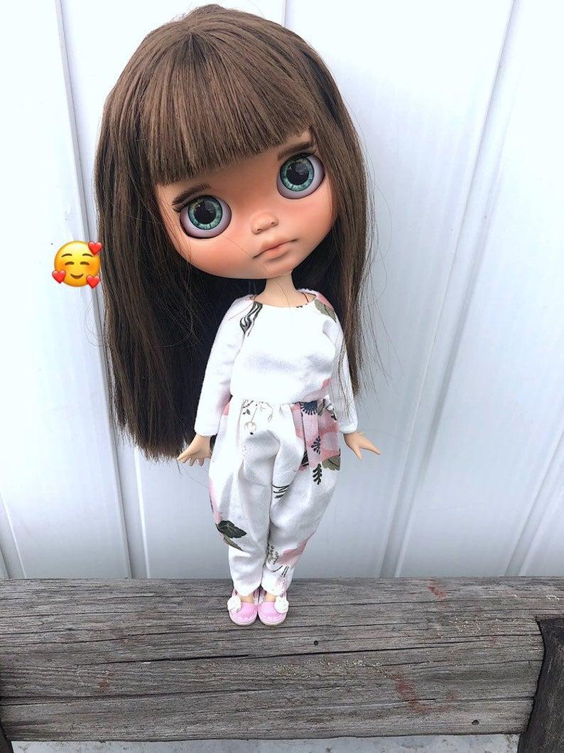 Maria - Custom Blythe Doll One-Of-A-Kind OOAK Custom Blythe Doll ⭐