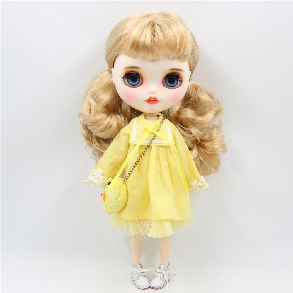Isabelle – Premium Custom Blythe Doll with Clothes Smiling Face Premium Blythe Dolls 🆕 Smiling Face