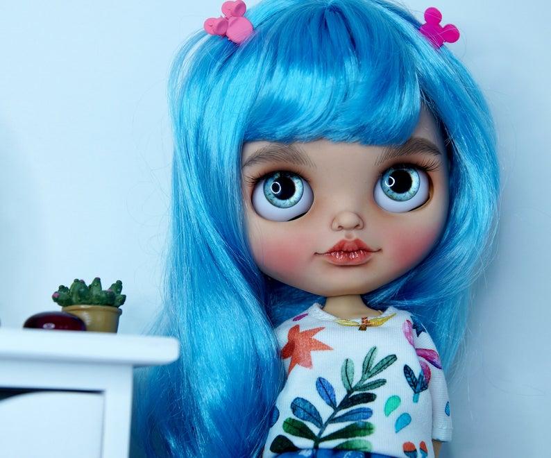 Leya - Custom Blythe Doll One-Of-A-Kind OOAK Sold-out Custom Blythes