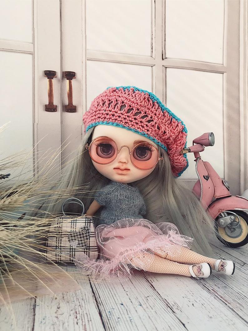 Aaliyah - Custom Blythe Doll One-Of-A-Kind OOAK Custom Blythe Doll ⭐