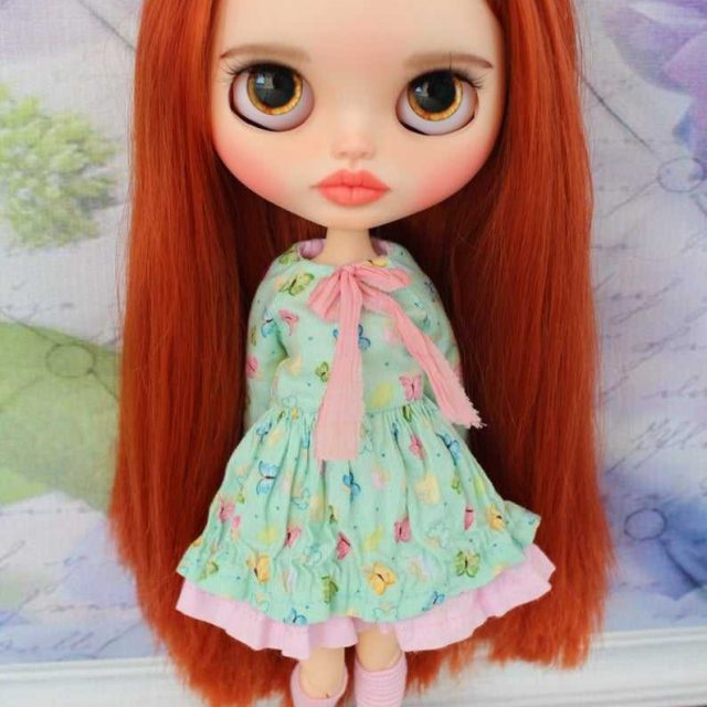 Piper - Custom Blythe Doll One-of-A-Kind OOAK