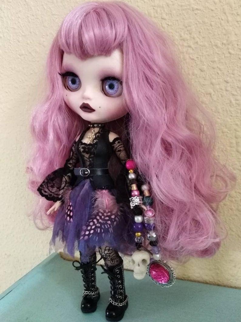 Madelyn - Custom Blythe Doll One-Of-A-Kind OOAK Custom Blythe Doll ⭐