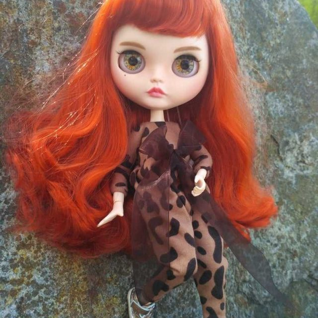 Lydia - Custom Blythe Doll One-Of-A-Kind OOAK