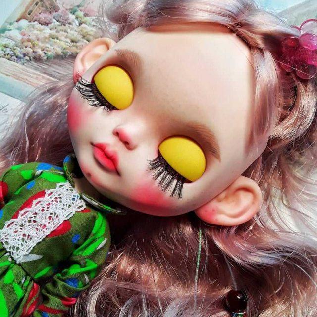 Lizzi - Custom Blythe Doll Ọkan-Of-A-Kind OOAK