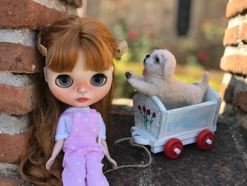 Zoey - Custom Blythe Doll One-Of-A-Kind OOAK Custom Blythe Doll ⭐