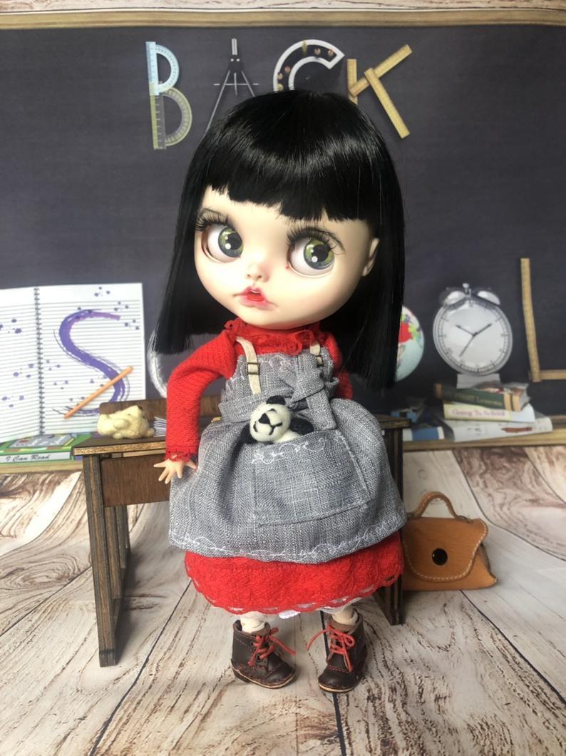 Stella - Custom Blythe Doll One-Of-A-Kind OOAK Custom Blythe Doll ⭐