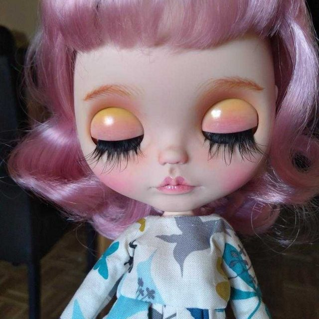 Vîla - Custom Blythe Doll Yek-Tewra OOAK
