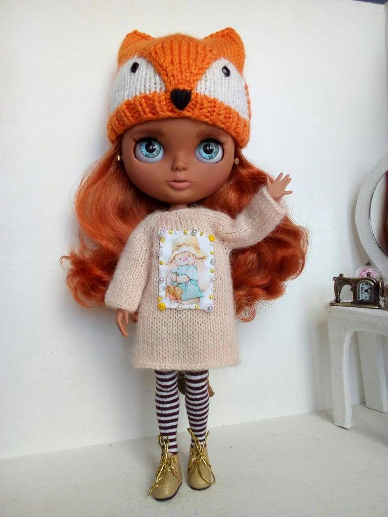 Ruby - Custom Blythe Doll One-Of-A-Kind OOAK Custom Blythe Doll ⭐